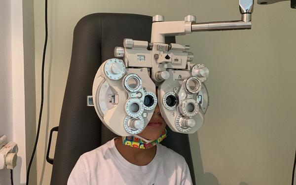 שלב שני בדיקת עיניים